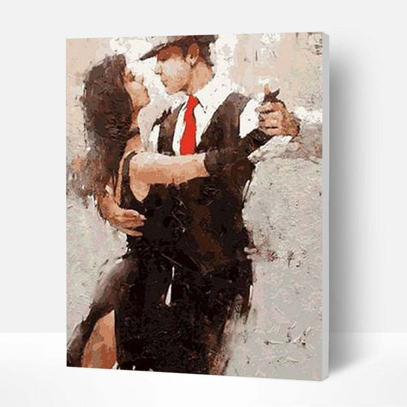 Paint by Numbers Kit - Passionate Tango - BlingPainting