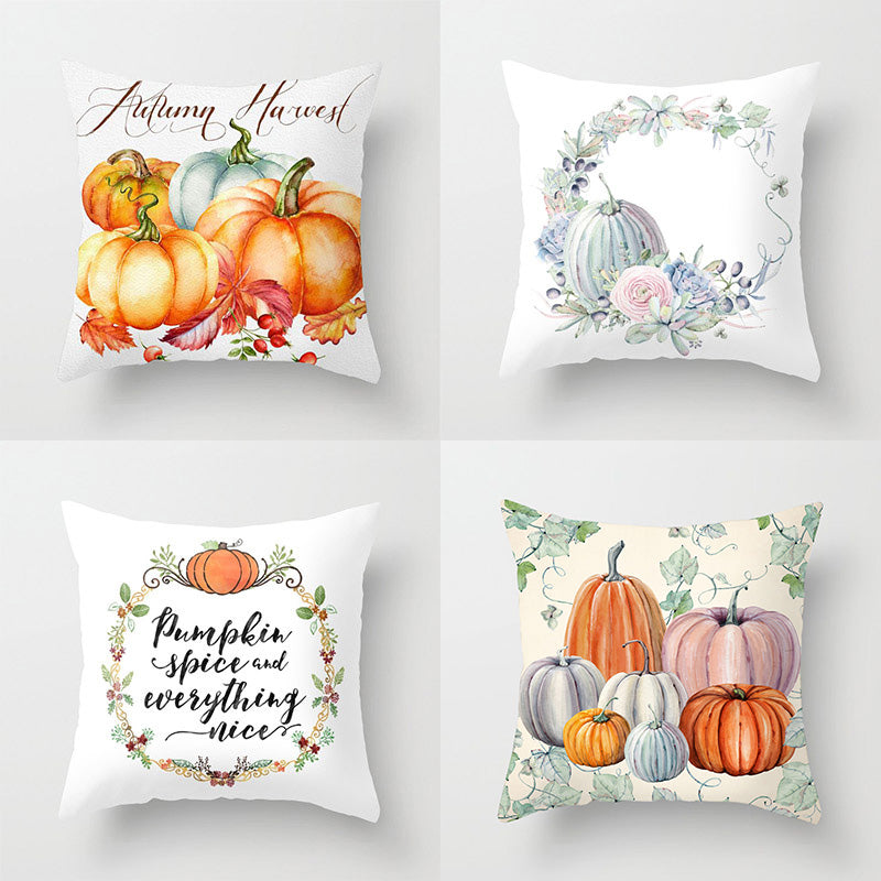 Throw Pillow Covers For Thanksgiving Day 18x18 Inch