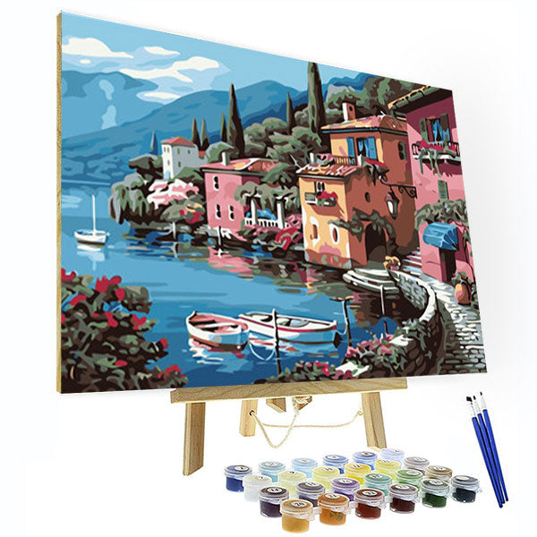 Paint by Numbers Kit -  Italian Scenery
