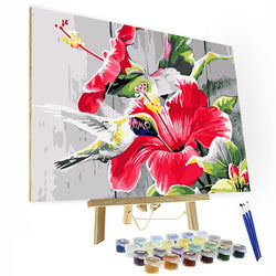 Paint by Numbers Kit - Hummingbird - BlingPainting