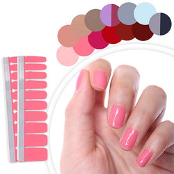 Nail Polish Stripes Solid Color 20pcs