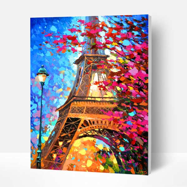 Paint by Numbers Kit - Eiffel tower