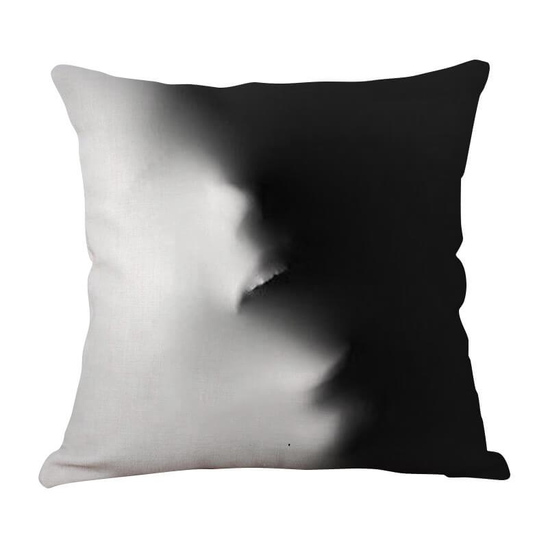 Halloween Horror Throw Pillow B - BlingPainting