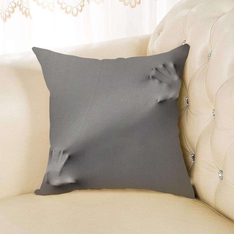 Halloween Horror Throw Pillow D - BlingPainting