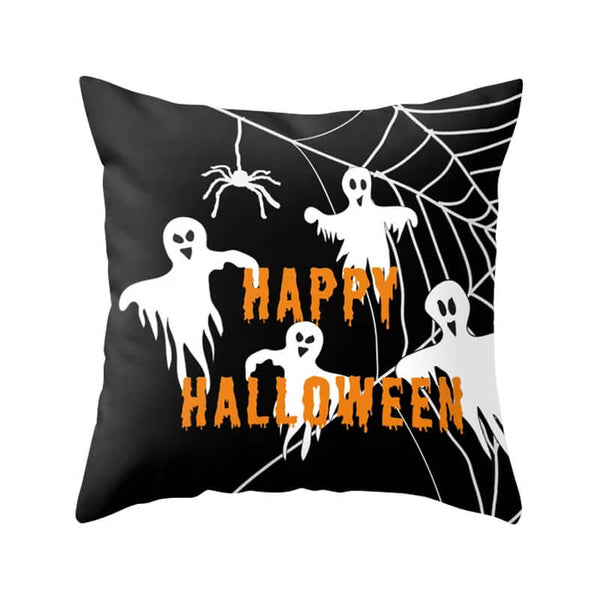 Halloween Decor Linen Ghost Throw Pillow - BlingPainting