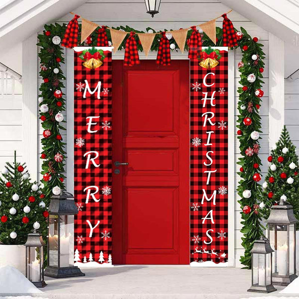 Merry Christmas Banner Decor