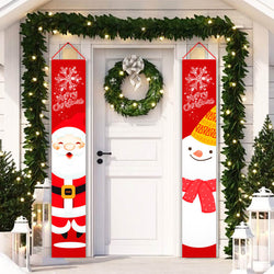 Merry Christmas Banner Decor F