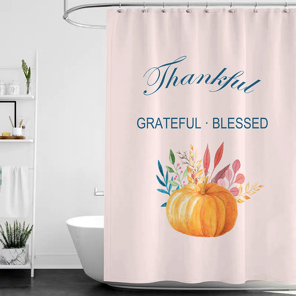 Thanksgiving Shower Curtain D - BlingPainting