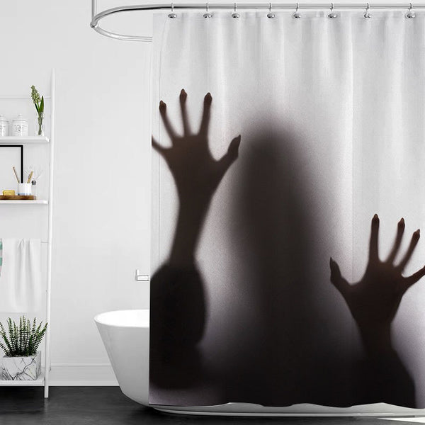 Halloween Bathroom Shower Curtains - BlingPainting
