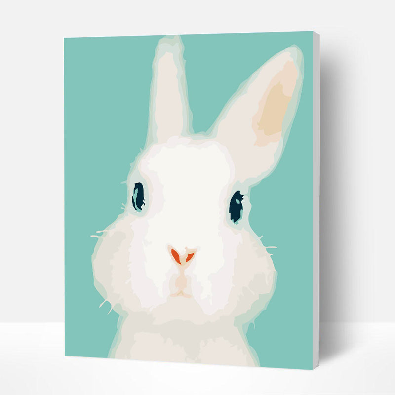 Paint by Numbers Kit for Kids - Cute Rabbit