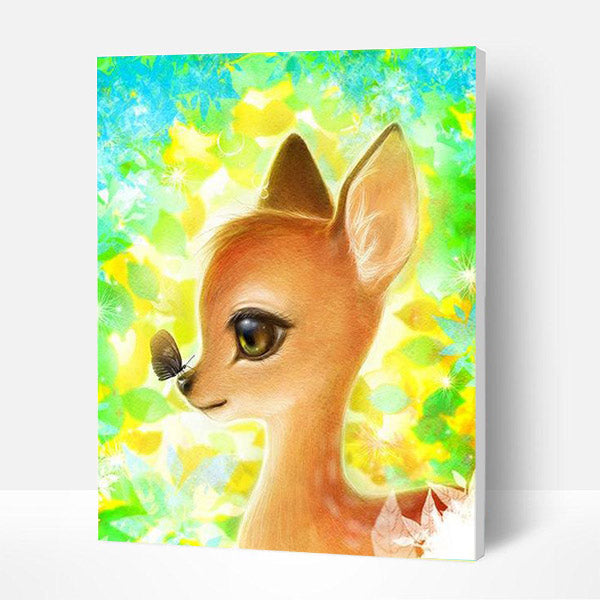 Paint by Numbers Kit for Kids - Shining Deer