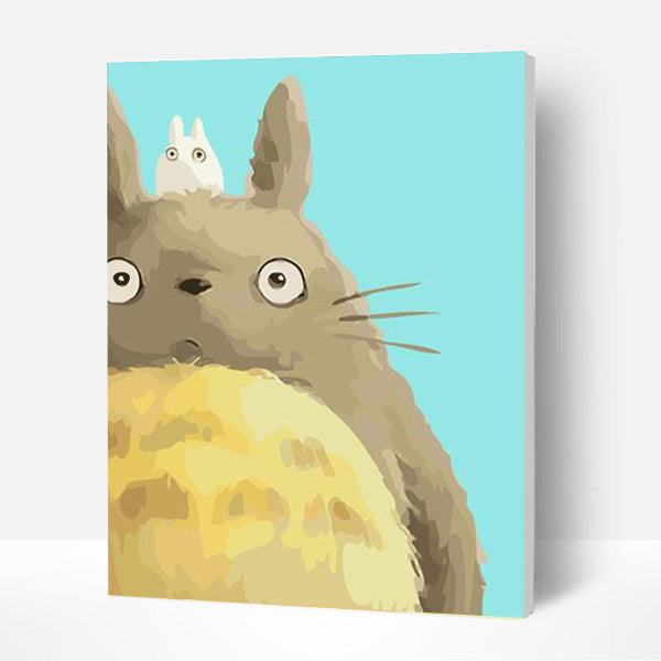 Paint by Numbers Kit for Kids -  Cute Chinchilla - BlingPainting