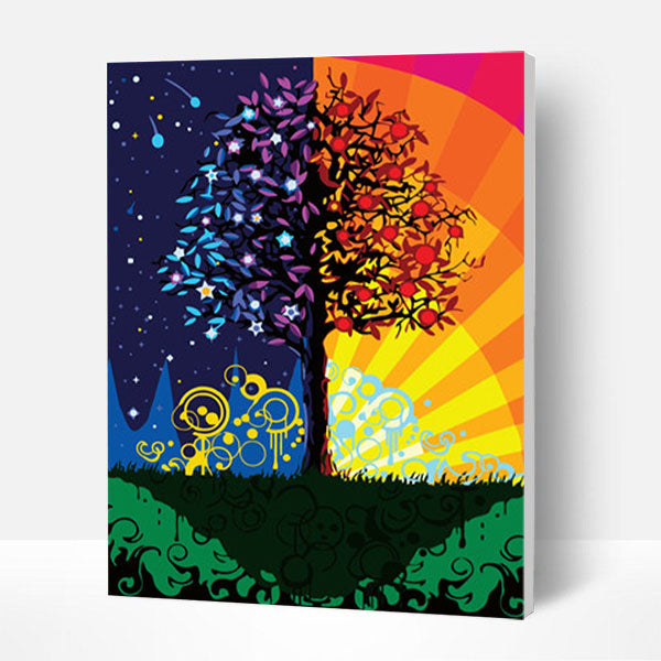 Paint by Numbers Kit - Prosperity Tree - BlingPainting
