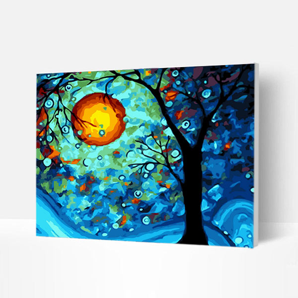 Paint by Numbers Kit - Faraway Dream Tree - BlingPainting