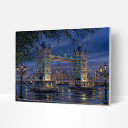 Paint by Numbers Kit -  London Bridge - BlingPainting