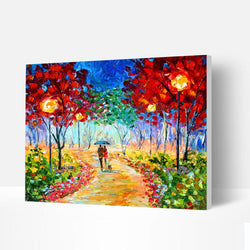 Paint by Numbers Kit -  Fantasy Forest - BlingPainting