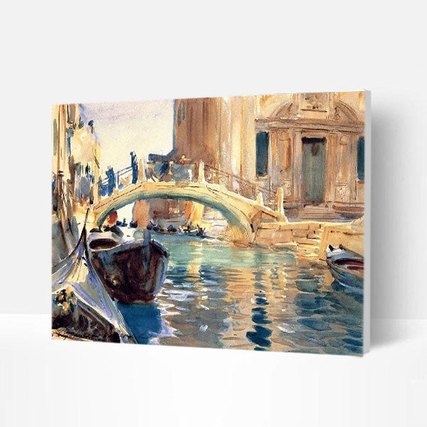Paint by Numbers Kit -  Abstract Venice - BlingPainting