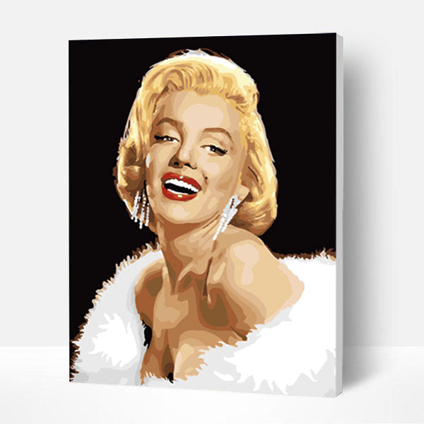 Paint by Numbers Kit - Sexy Marilyn Monroe - BlingPainting