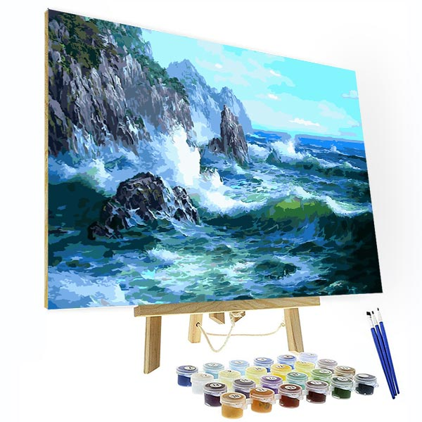 Paint by Numbers Kit - Reef By The Sea