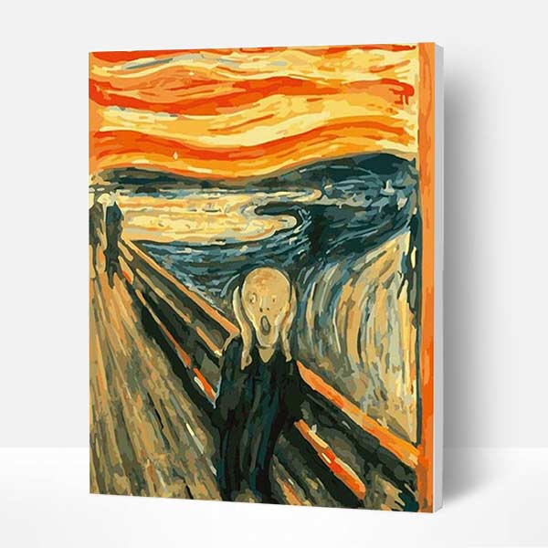 Paint by Numbers Kit - The Scream - BlingPainting