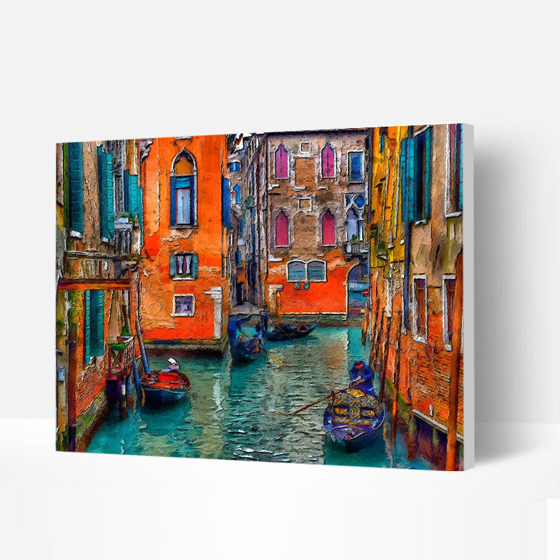 Paint by Numbers Kit - The Colors of Venice