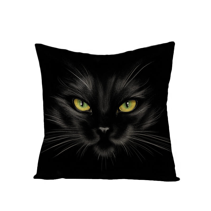 Halloween Decor Linen Dark Series Throw Pillow