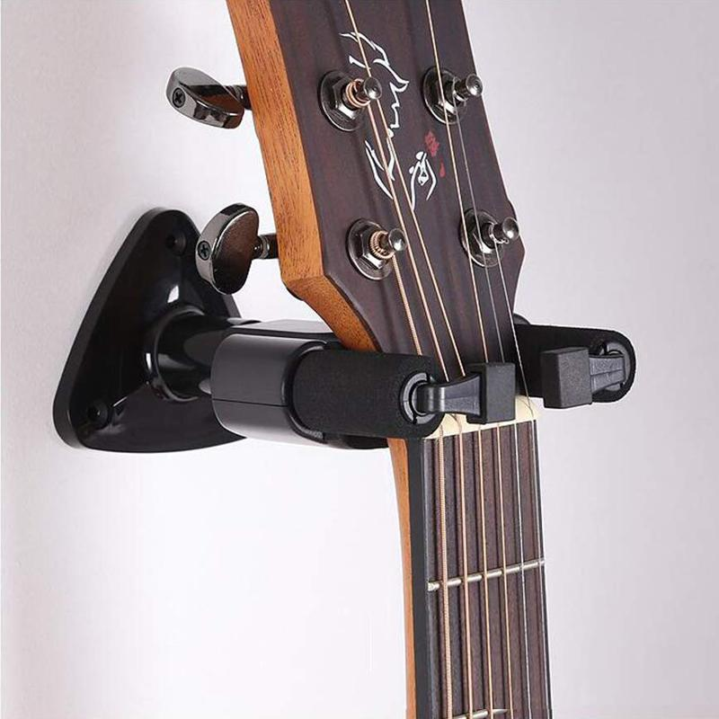 Wall Mount Auto Lock Guitar Hanger - BlingPainting