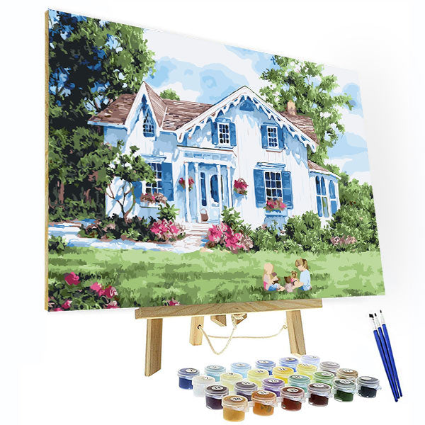 Paint by Numbers Kit -  My Home - BlingPainting