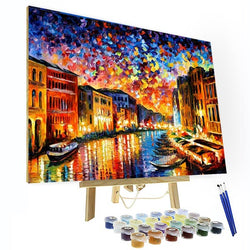 Paint by Number Kit -  Night In Venice - BlingPainting