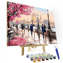 Paint by Numbers Kit -  Along The River