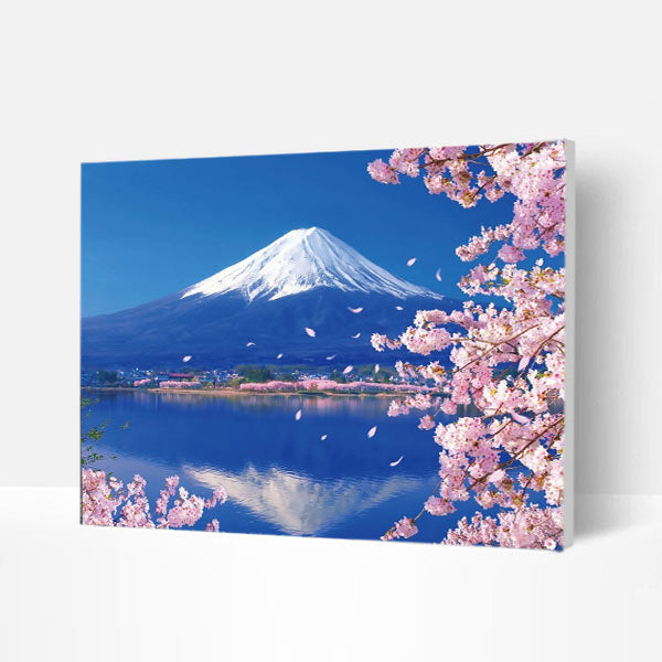 Paint by Numbers Kit -  Mount Fuji - BlingPainting