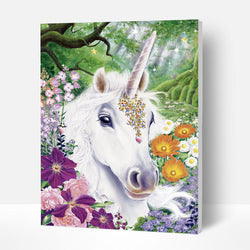 Paint by Numbers Kit - Unicorn - BlingPainting