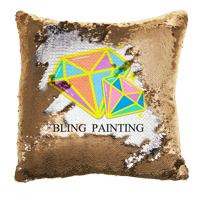 Normal Sequin Pillow Upgrade Plan - BlingPainting