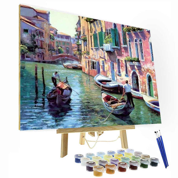 Paint by Numbers Kit - Venice - BlingPainting