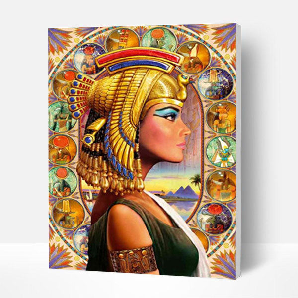 Paint by Numbers Kit - Cleopatra - BlingPainting