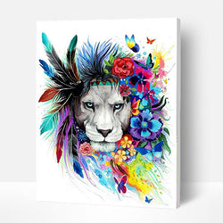 Paint by Numbers Kit - Indian Lion