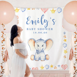 Custom Baby Shower Backdrop