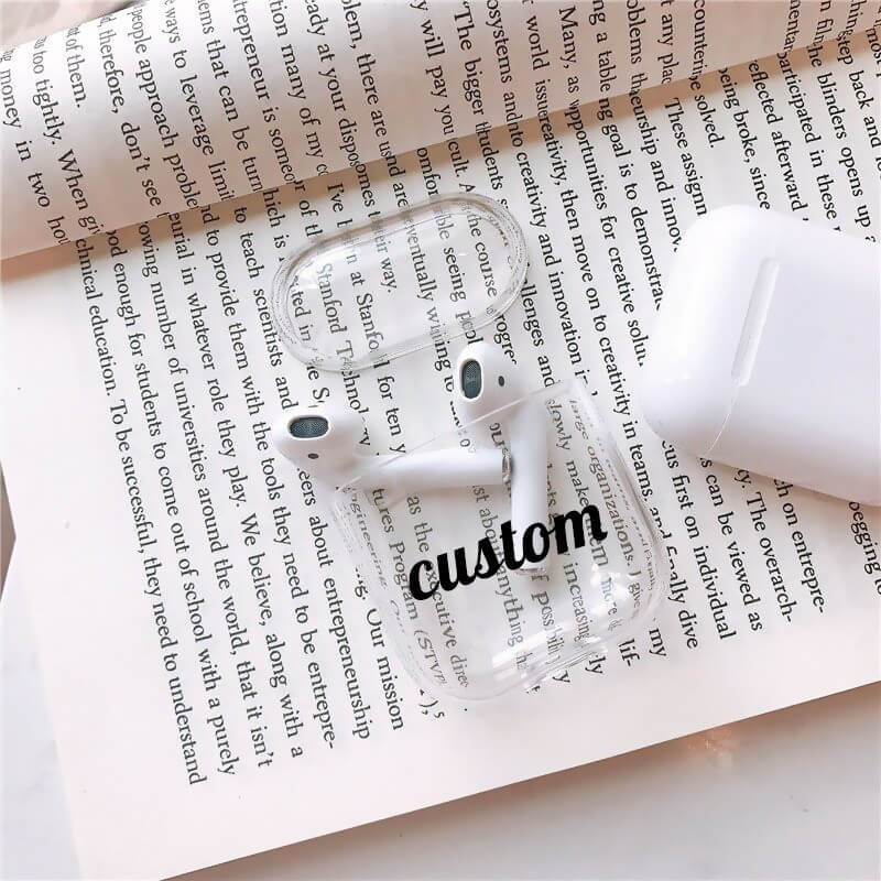 Custom AirPods 1&2 Case With Keychain - BlingPainting