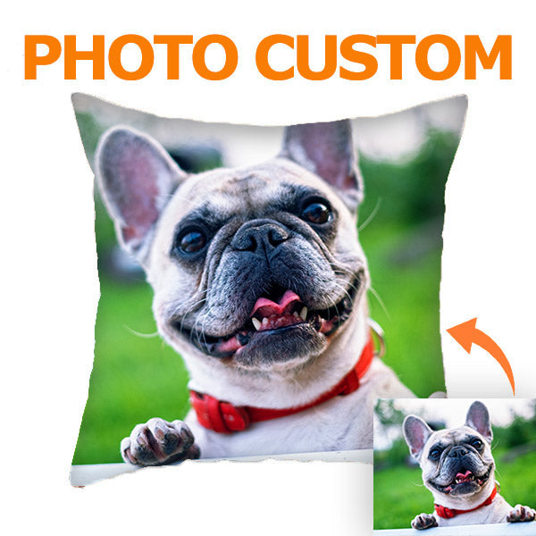Photo Custom Pillow - Personalized Throw Pillow with Photo