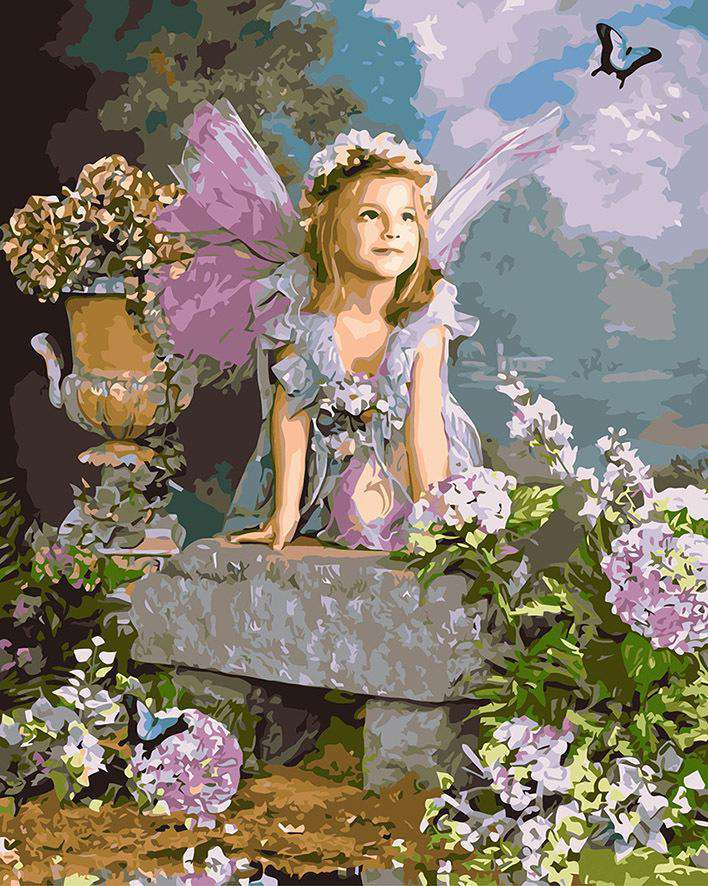 Flower Fairy - BlingPainting