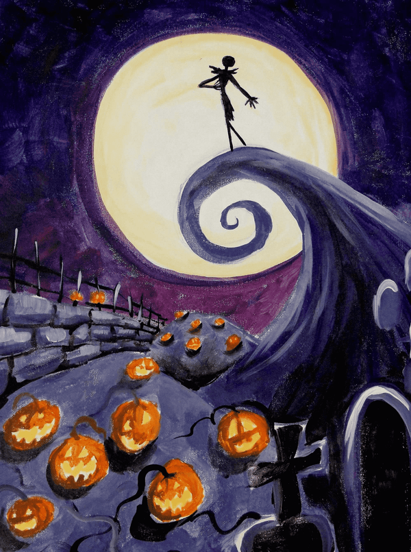 Halloween Painting - BlingPainting