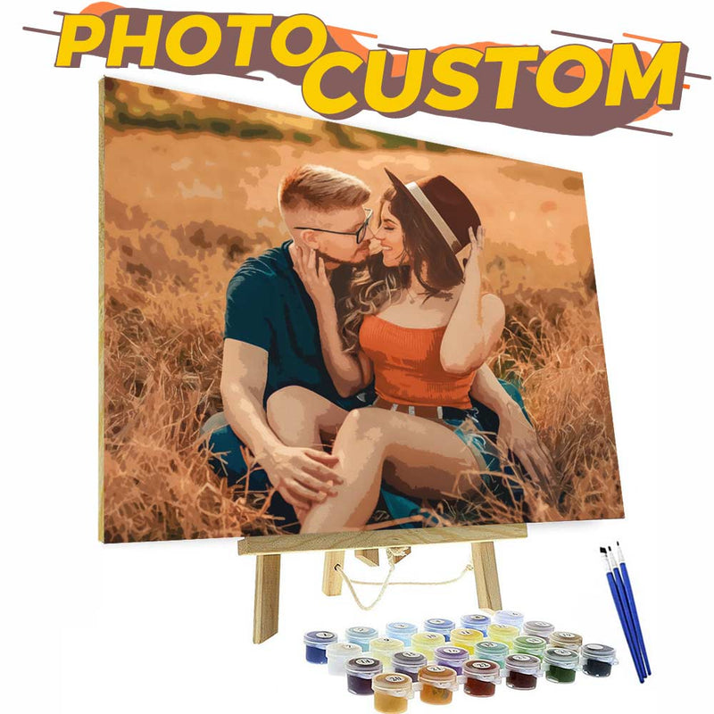 Photo To Oil Painting - Paint Your Love - BlingPainting