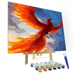 Paint by Numbers Kit -Phoenix - BlingPainting