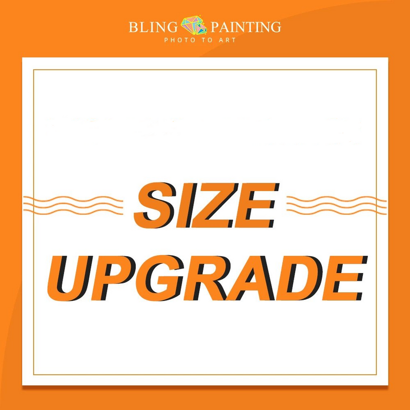 Custom Diamond Painting Upgrade Plan 7 - BlingPainting