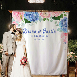 Custom Wedding Backdrop C - BlingPainting