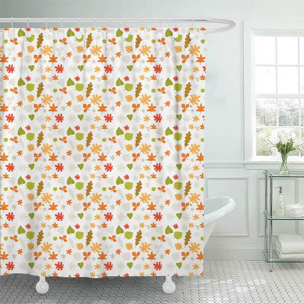 Thanksgiving Shower Curtain E - BlingPainting