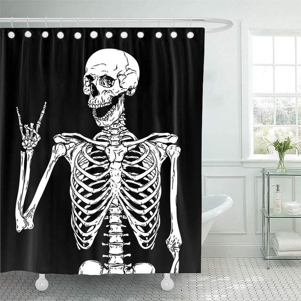 Halloween Bathroom Shower Curtains J - BlingPainting