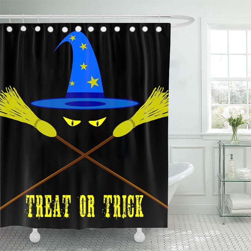 Halloween Bathroom Shower Curtains H - BlingPainting