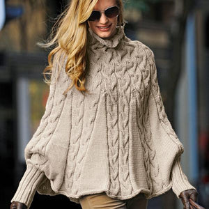 Knitted Solid Casual Stand Collar Hoodies & Sweatshirt