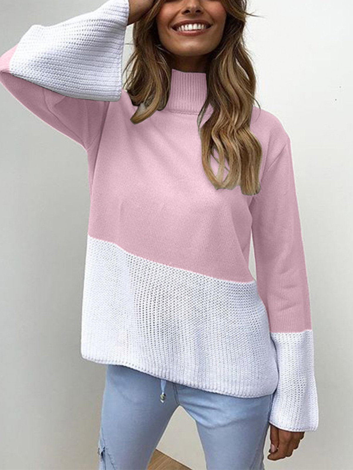 Fashion Casual Loose Long Sleeve Sweater